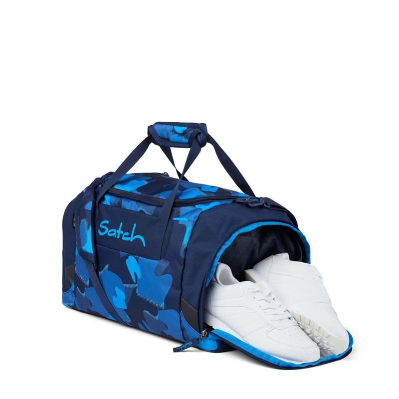 Satch Sportstaske Blå camuflage 2