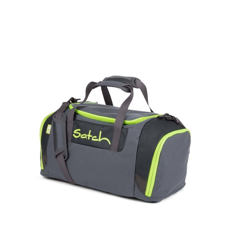Satch Sportstaske Grå/grøn 1