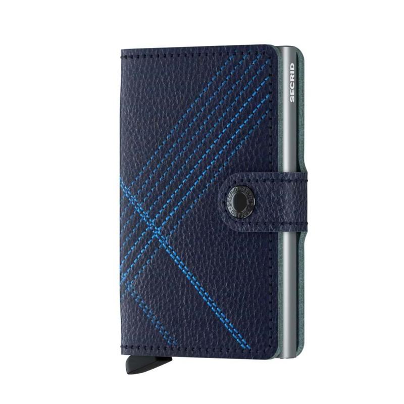 Secrid Kortholder Mini wallet M. blå 1