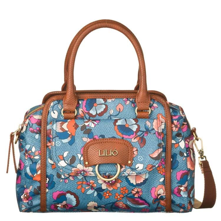 Lilió Håndtaske Blå 1