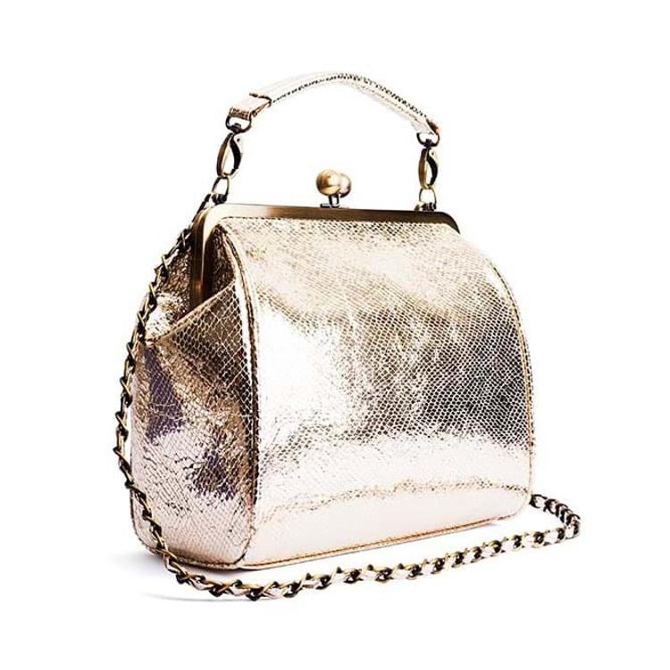 Håndtaske Guld 2