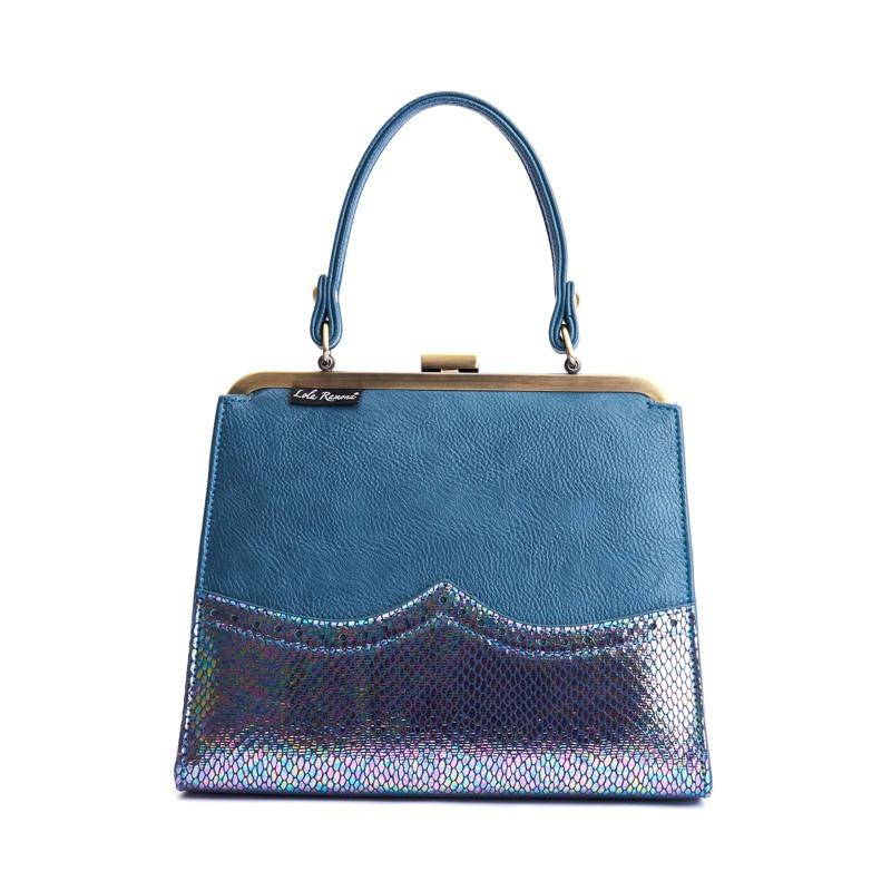 Håndtaske Blå 2