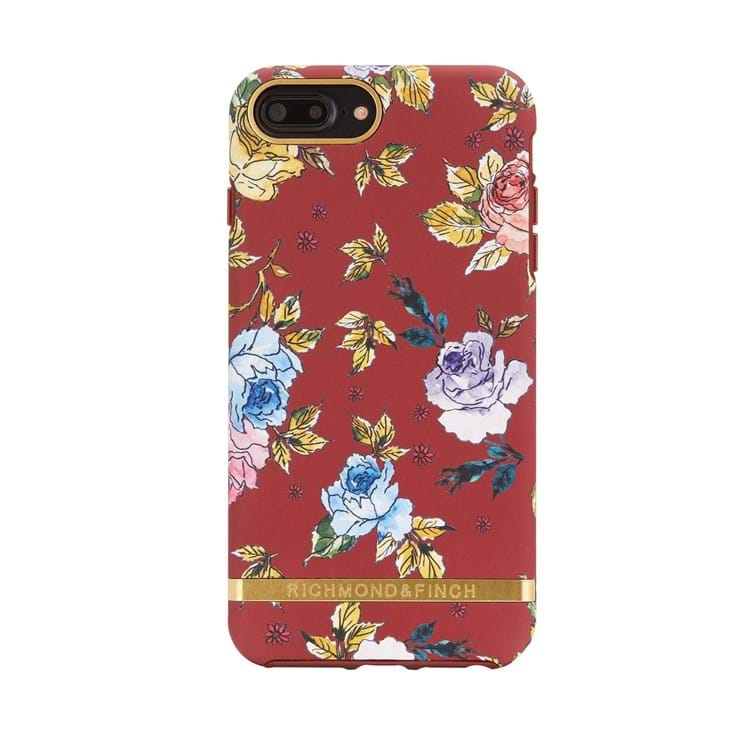 Richmond & Finch Mobilcover Blomster Print 1