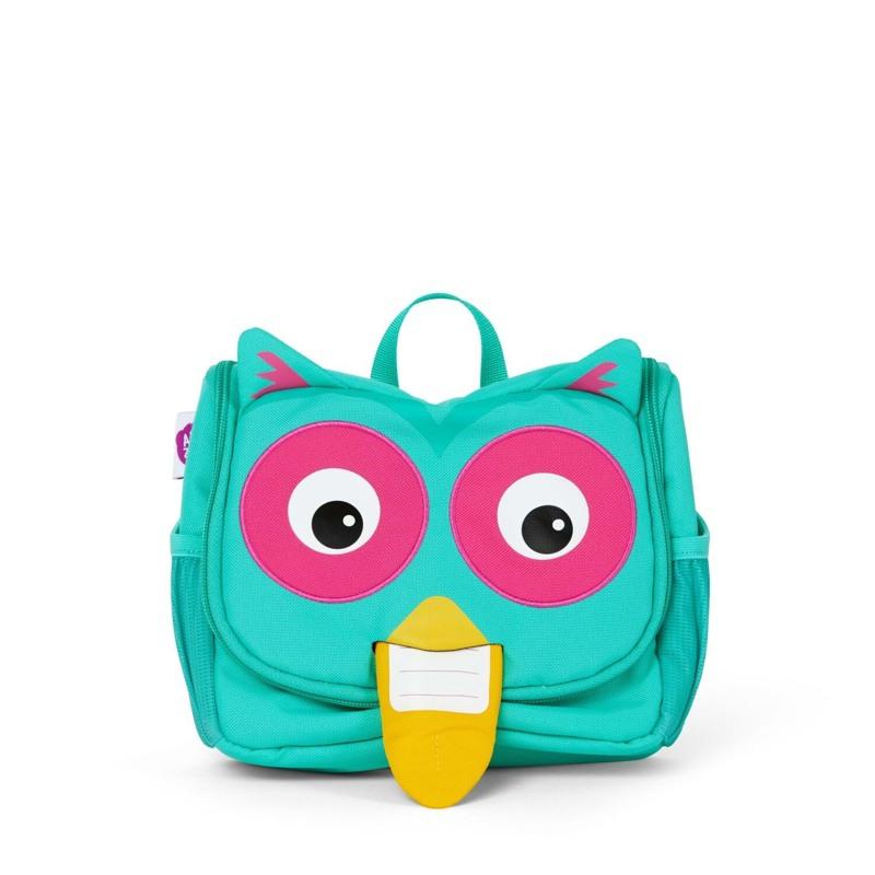 Affenzahn Toilettaske Olivia Owl Turkis 1