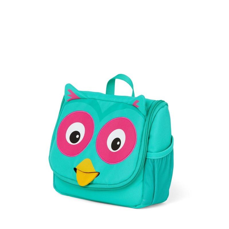 Affenzahn Toilettaske Olivia Owl Turkis 3