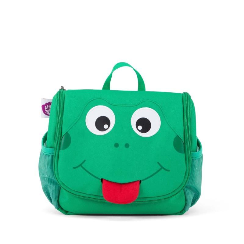 Affenzahn Toilettaske Finn Frog Grøn 1