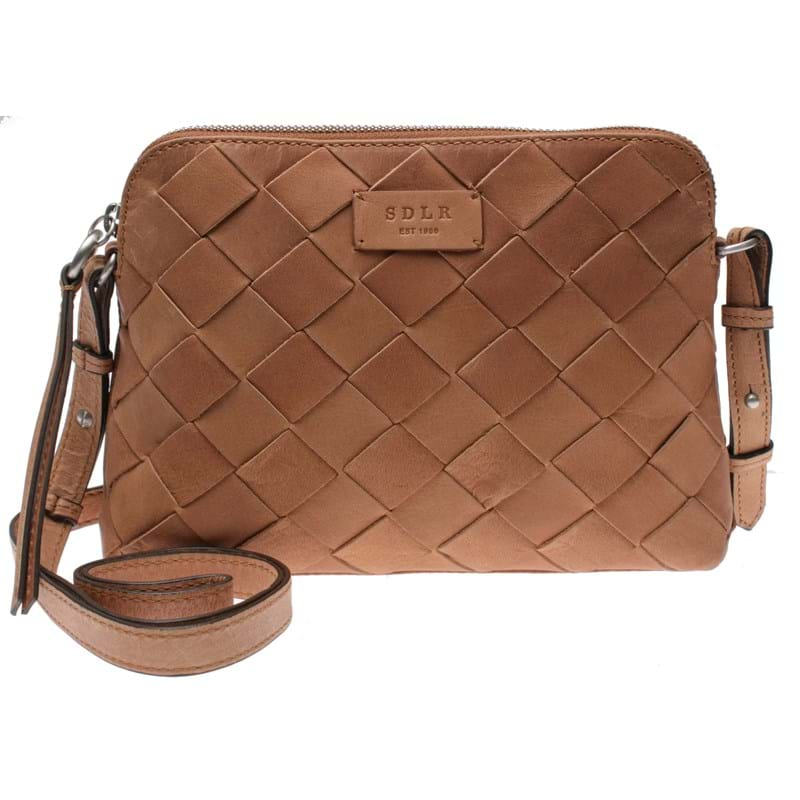 Saddler Crossbody Seattle Cognac 1