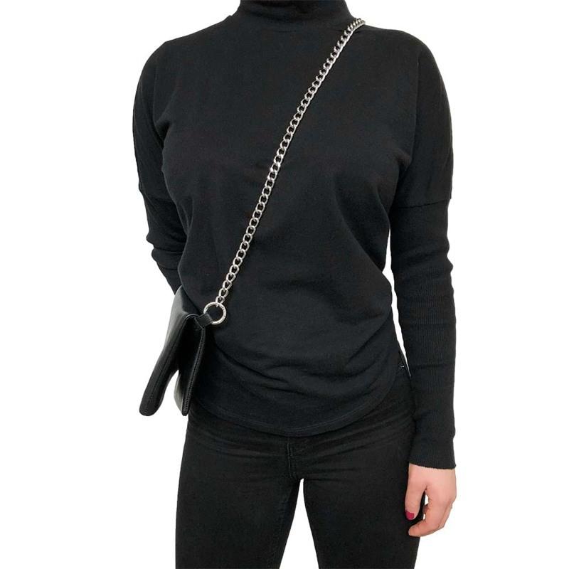 Noir Desire Taskekæde kædebælte ND 90 cm Sølv 2