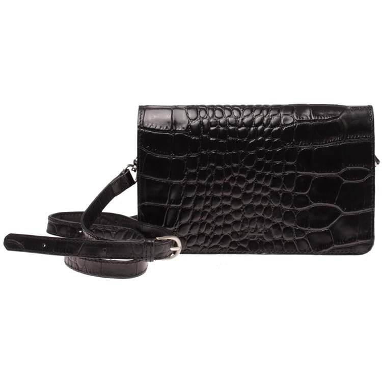 SDLR by Saddler Crossbody Narvik Sort/Croco 1