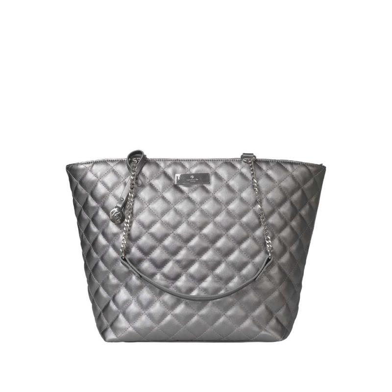 Rosemunde Shopper  Sølv 1