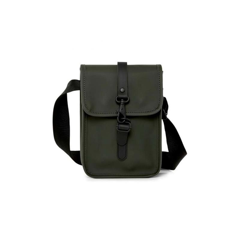 Rains Skuldertaske Flight Bag Army Grøn 1