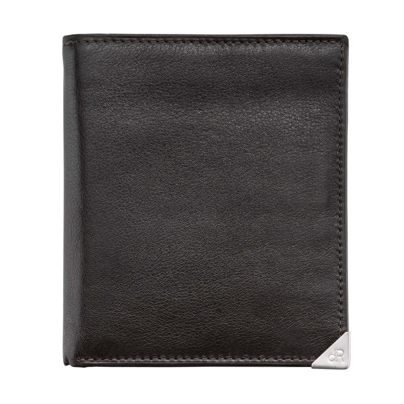 dR Amsterdam Herrepung Wallet Brun 1