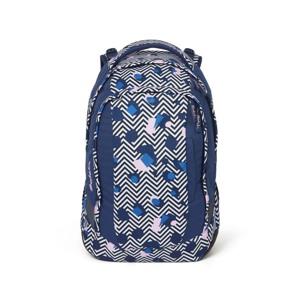 Satch Skoletaske Sleek Blå/mønster