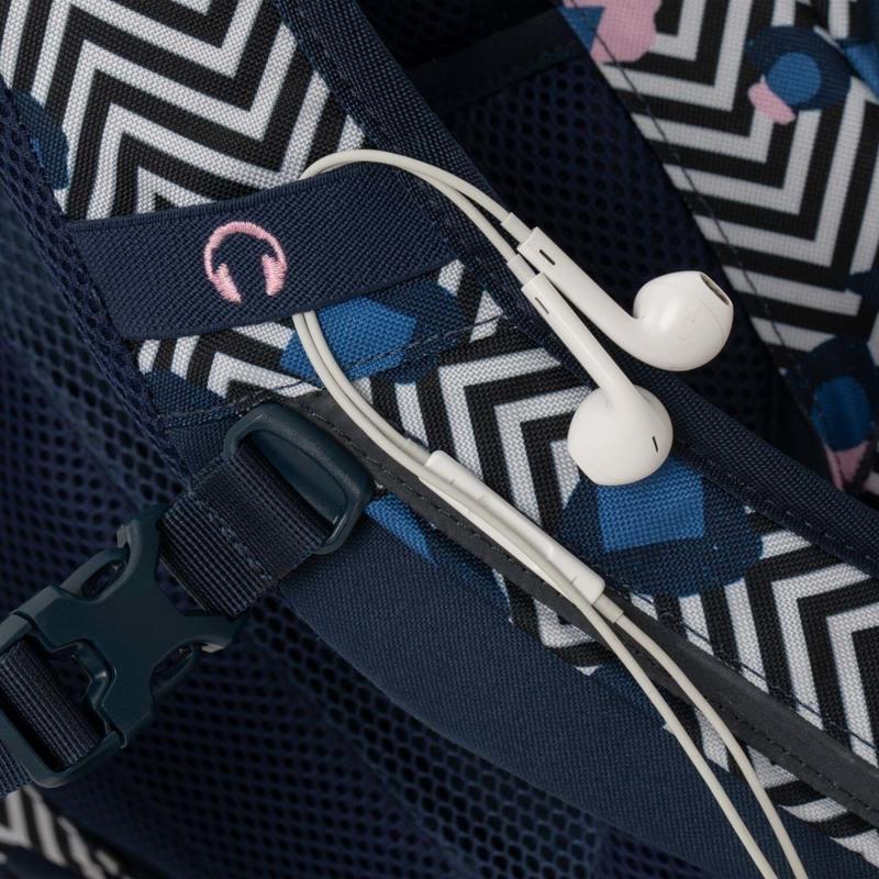 Satch Skoletaske Sleek Blå/mønster 6