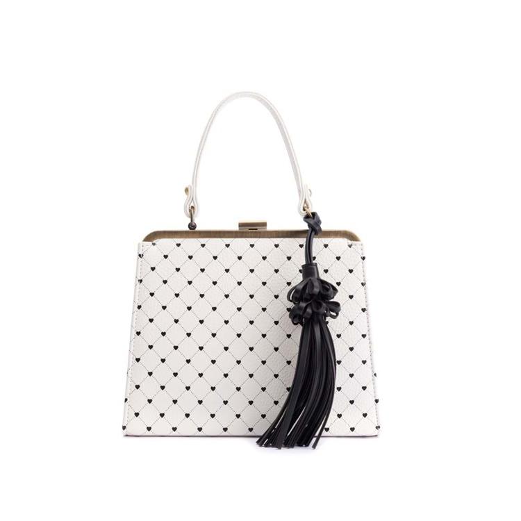 Håndtaske Creme 1