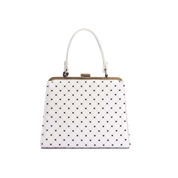 Håndtaske Creme 3