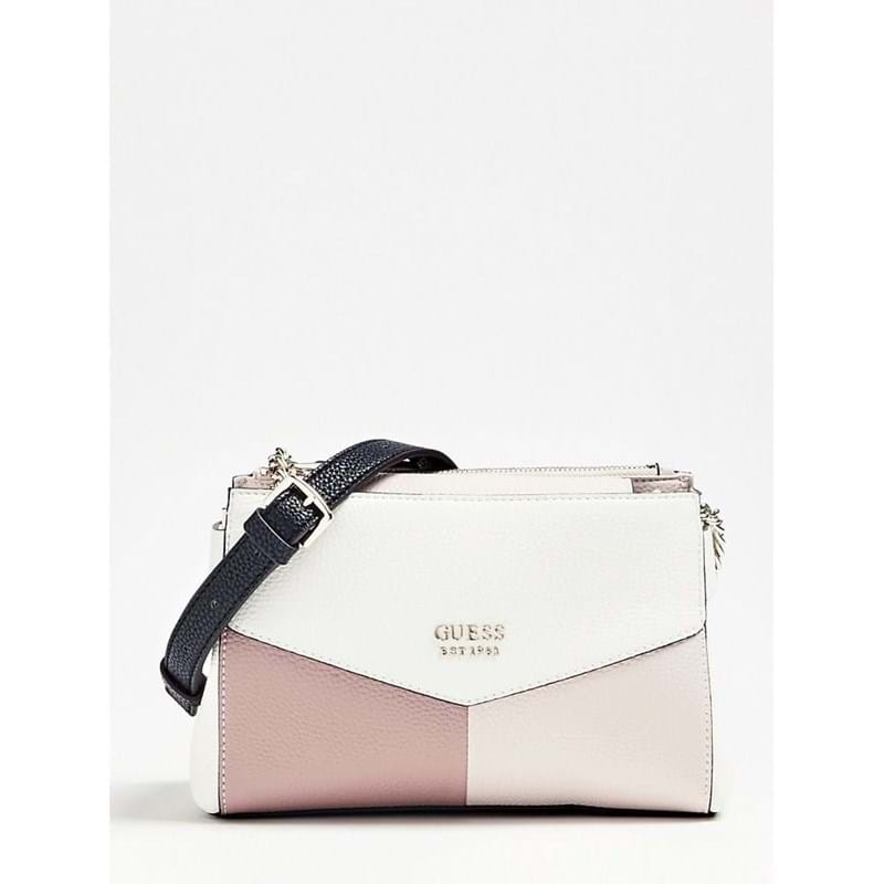 Guess Crossbody Colette Mini Society Hvid 1