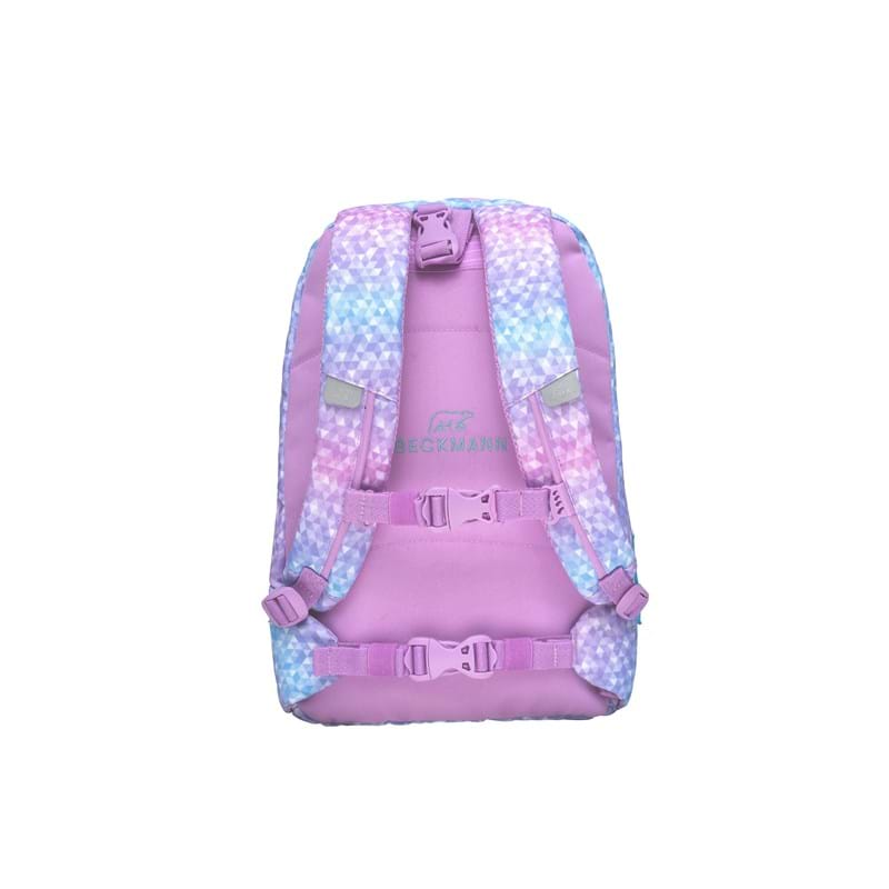 Beckmann Gymnastiktaske Magic Geo Rosa/mint 2