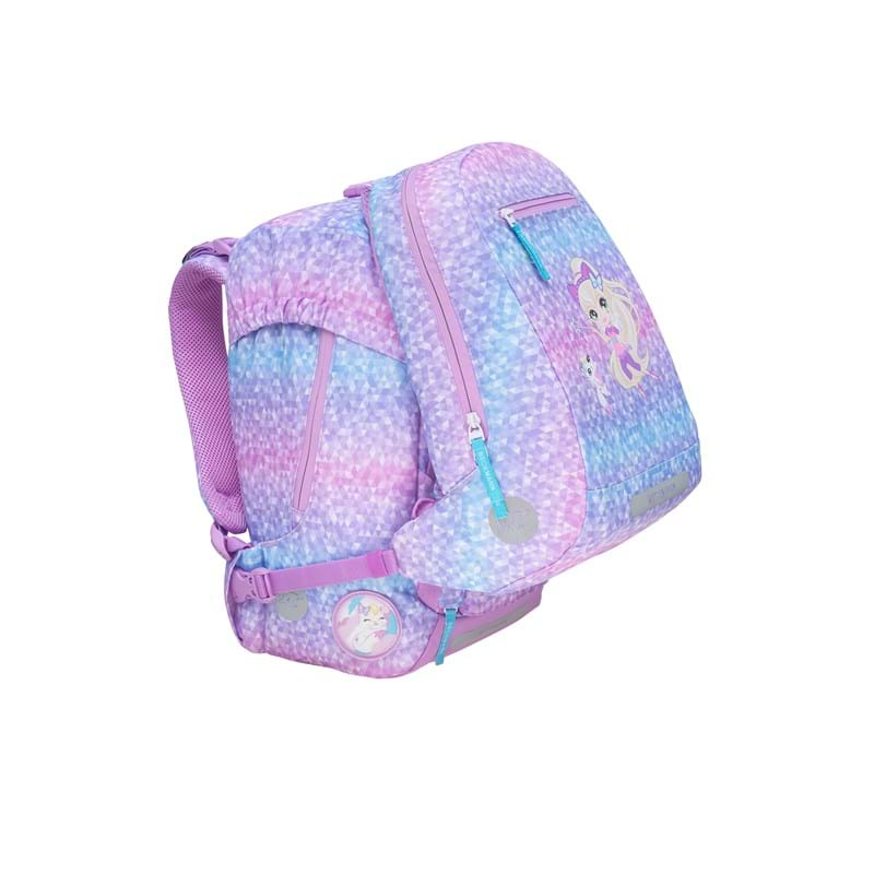 Beckmann Gymnastiktaske Magic Geo Rosa/mint 3