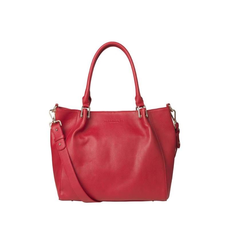 Rosemunde Shopper  Rød 1
