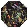Bella Ballou Paraply Asian Garden Sort/med blomster 1