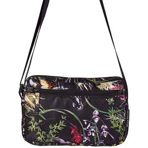Bella Ballou Crossbody Asian Garden Sort/med blomster 1