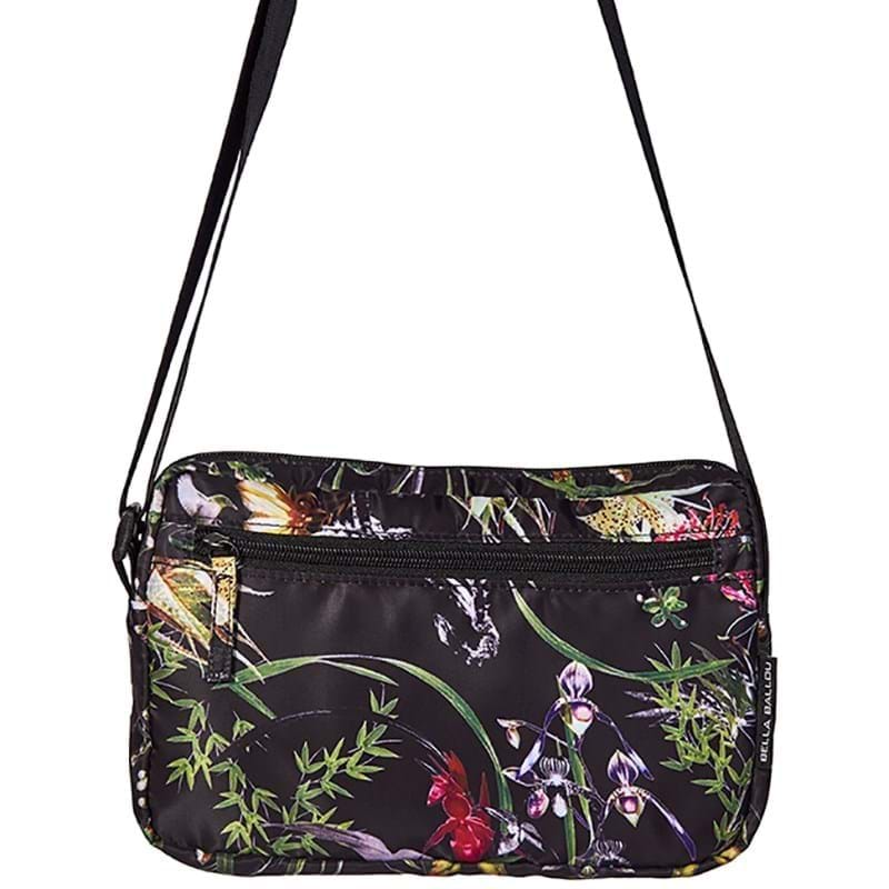 Bella Ballou Crossbody Asian Garden Sort/med blomster 1