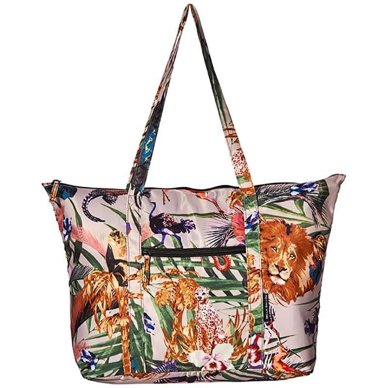 Bella Ballou Shopper Luxe Kingdom Grøn mønster 1