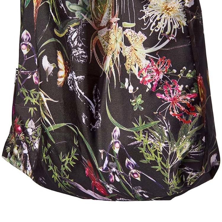 Bella Ballou Mulepose Asian Garden Sort/med blomster 3