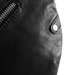 Depeche Bæltetaske  Sort/sølv 4