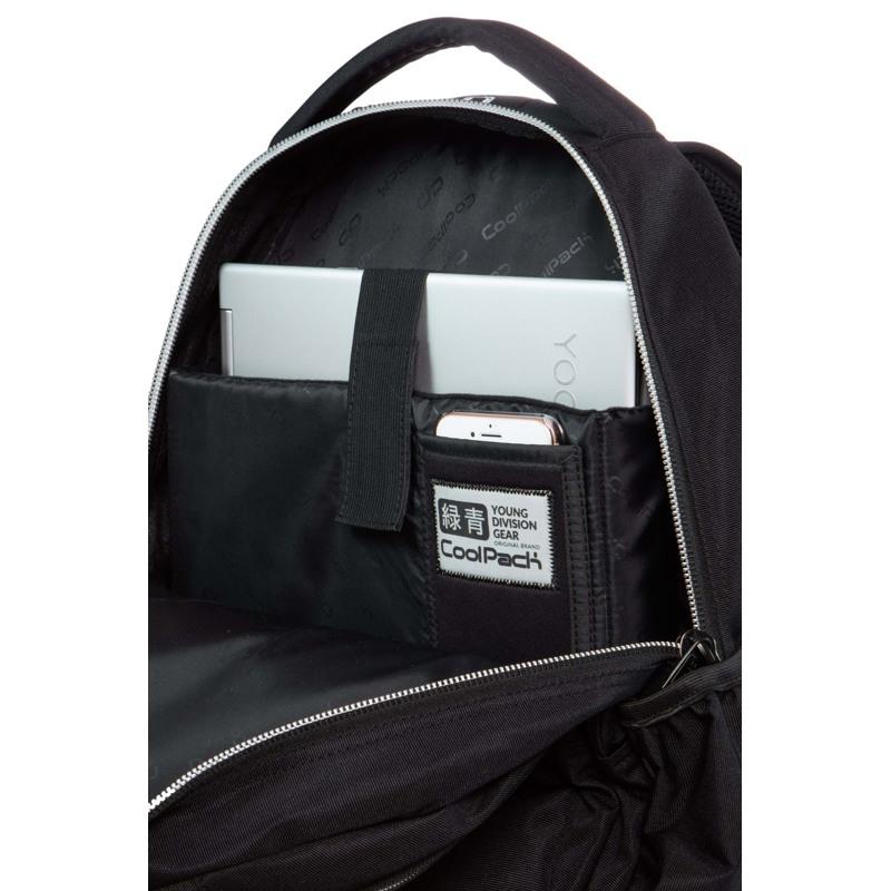 Coolpack Skole rygsæk Joy XL Sølv 4