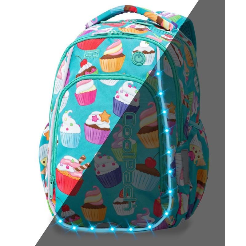 Coolpack Skoletaskesæt Strike S Turkis/Pink 1