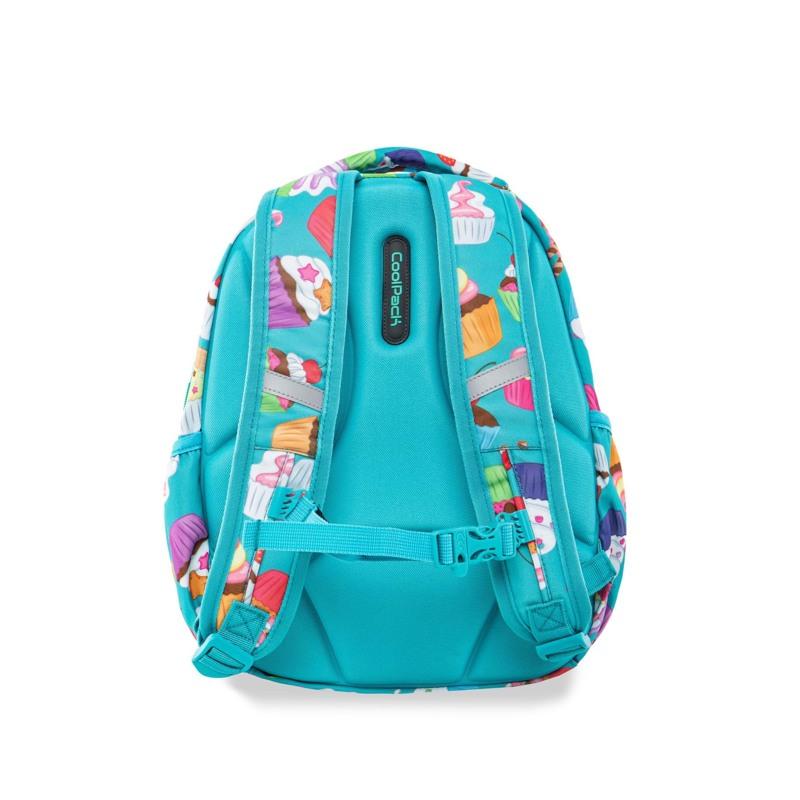 Coolpack Skoletaskesæt Strike S Turkis/Pink 4
