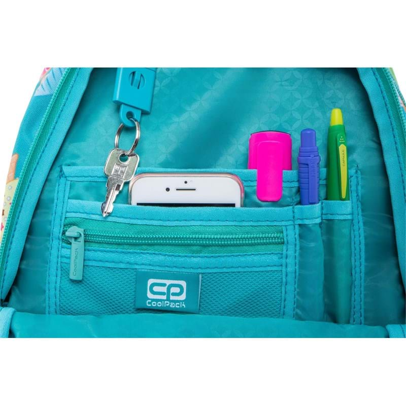 Coolpack Skoletaskesæt Strike S Turkis/Pink 5