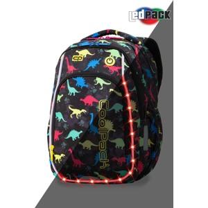 Coolpack Skoletaskesæt Strike S Sort mønster