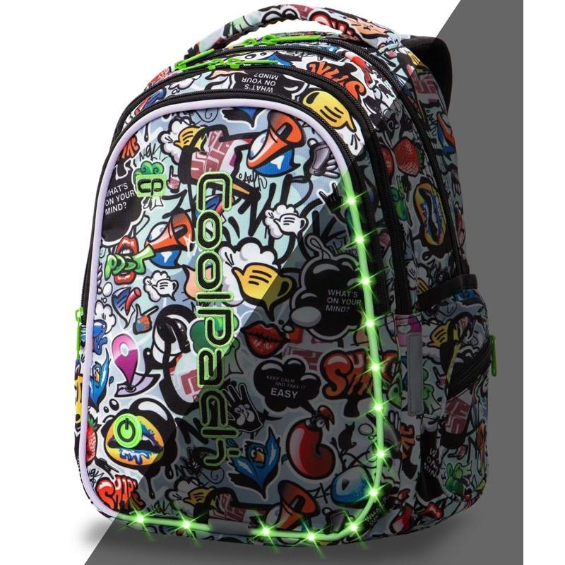 Coolpack Skoletaskesæt Joy M Multi 1