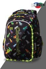 Coolpack Skoletaskesæt Joy M Sort