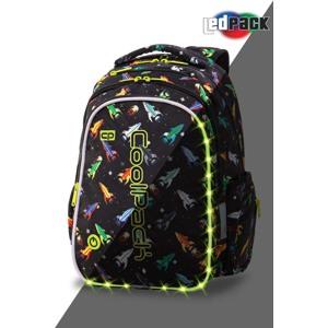 Coolpack Skoletaskesæt Joy M Sort mønster