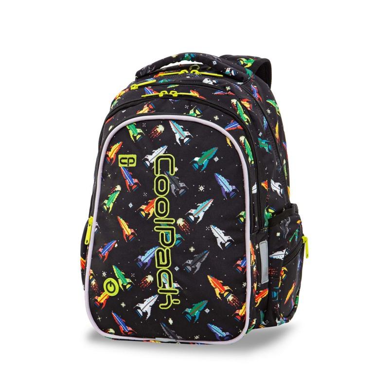 Coolpack Skoletaskesæt Joy M Sort mønster 2