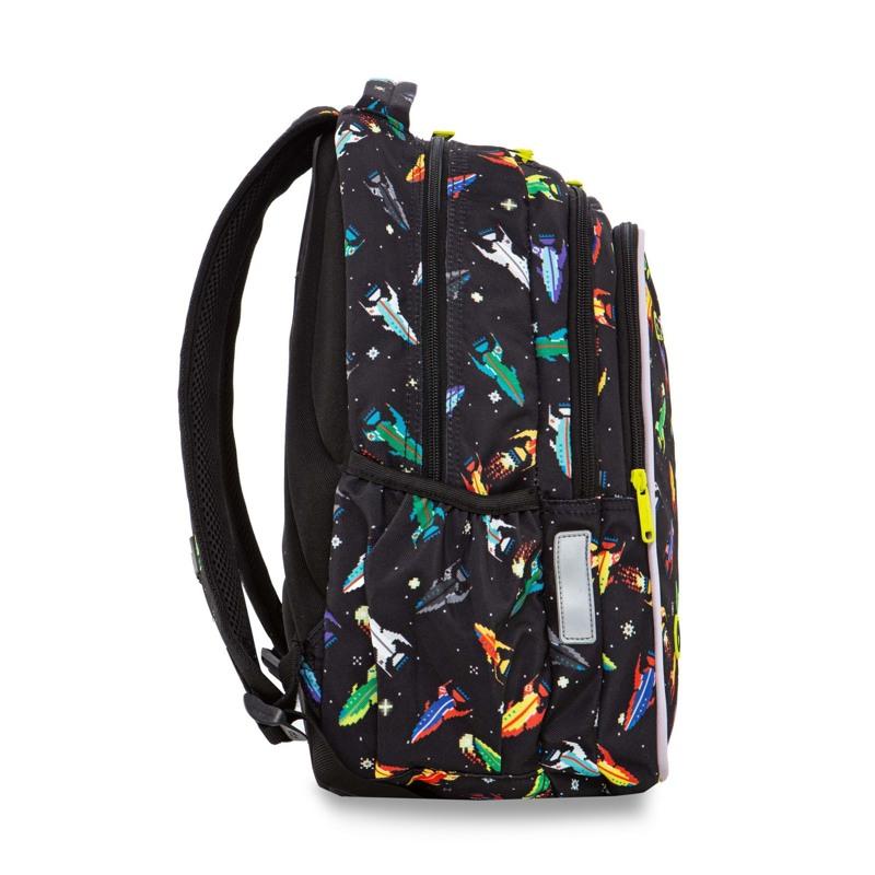 Coolpack Skoletaskesæt Joy M Sort mønster 3