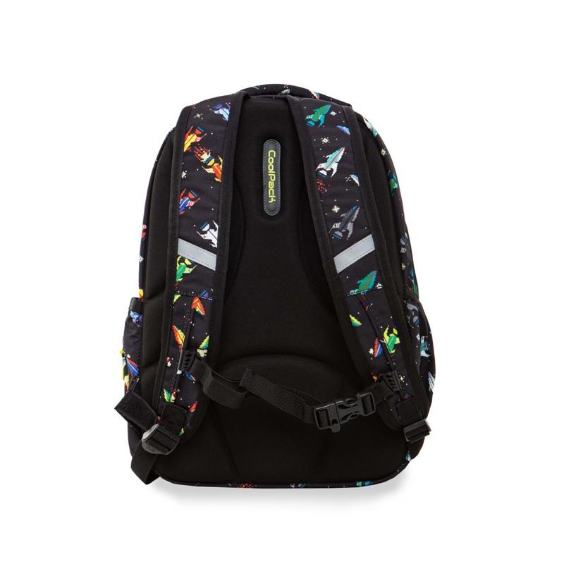 Coolpack Skoletaskesæt Joy M Sort mønster 4