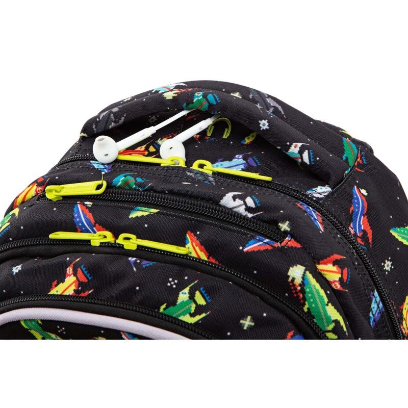 Coolpack Skoletaskesæt Joy M Sort mønster 5