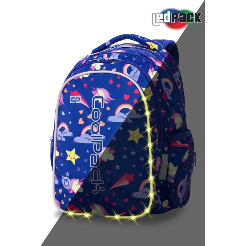 Coolpack Skoletaskesæt Joy M Blå m/stjerner 1