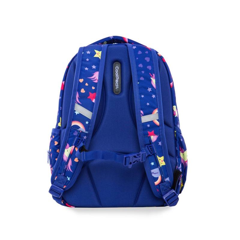 Coolpack Skoletaskesæt Joy M Blå m/stjerner 4