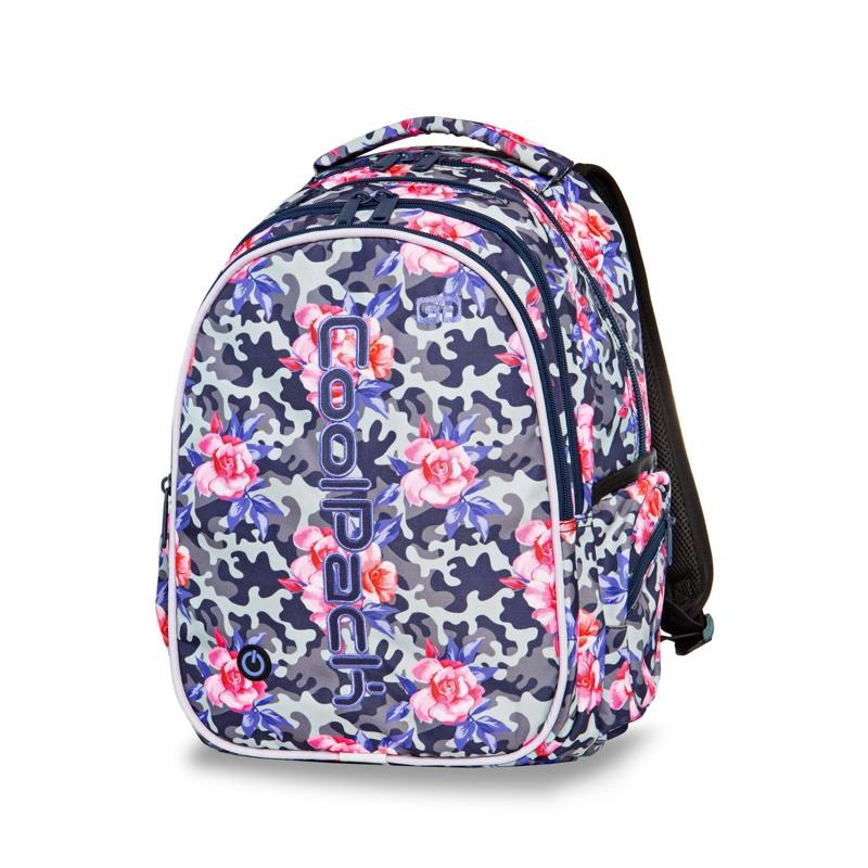 Coolpack Skoletaskesæt Joy L Sort m/mønster 2