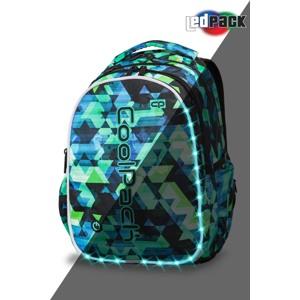 Coolpack Skoletaskesæt Joy L Grøn