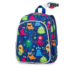 Coolpack Skoletaskesæt Bobby Blå m/ gul alt image