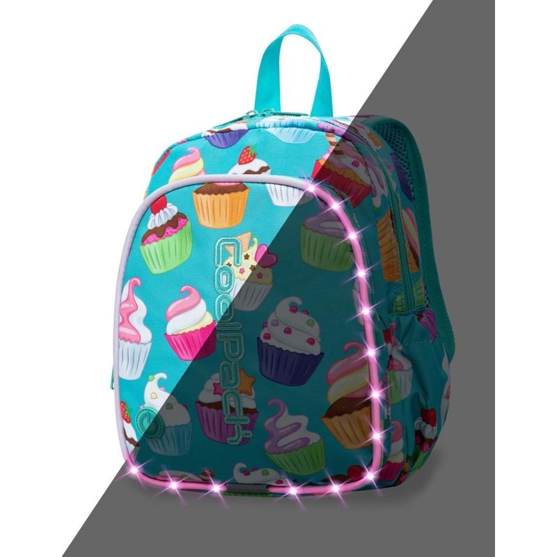 Coolpack Skoletaskesæt Bobby Turkis/Pink 1