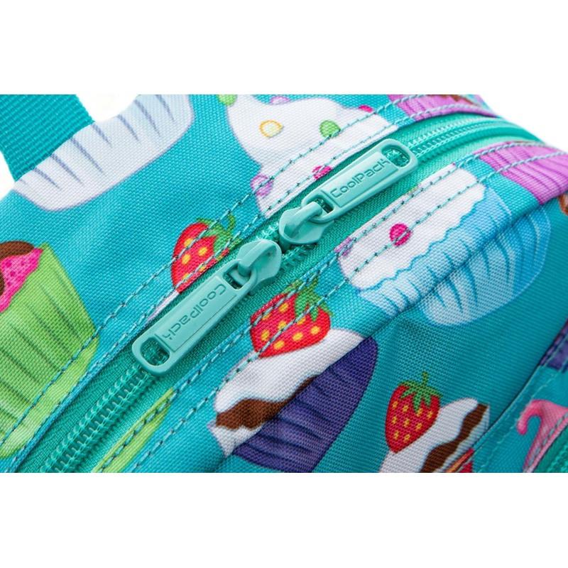 Coolpack Skoletaskesæt Bobby Turkis/Pink 6