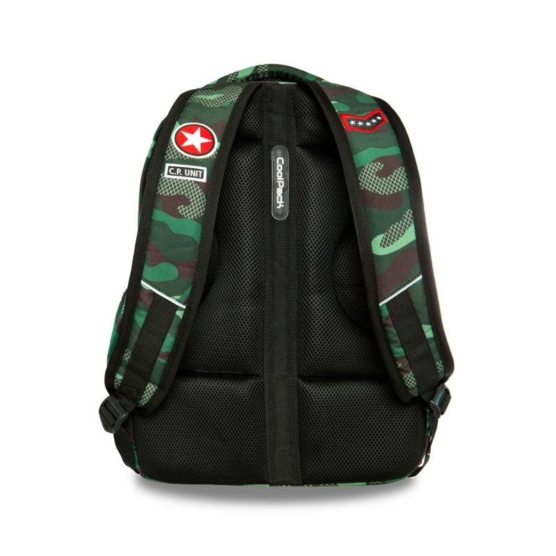 Coolpack Skoletaskesæt Bentley Grøn Camou 8